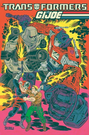 Transformers News: IDW Announces New Transformers / G.I. Joe Crossover Written and Drawn by Tom Scioli