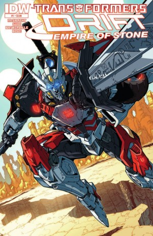Transformers News: IDW Transformers Drift: Empire of Stone #1 Preview