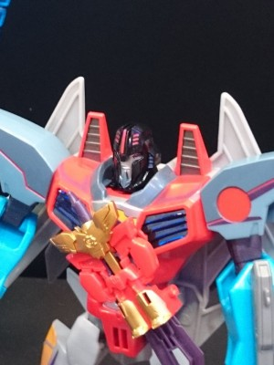 Transformers News: Transformers Robots in Disguise Power Surge Optimus Prime, Sideswipe, Starscream Reviews