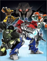 Super Robot Lifeform Transformers: Prime Makes It's Debut