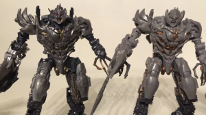 New Studio Series Battle-Damaged Megatron Review