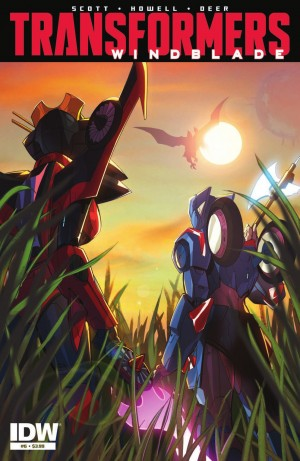 Transformers News: IDW Transformers: Windblade #6 Review