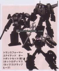 Robotkingdom.com Update: Takara United 2010 Exclusive Autobot & Decepticon 3-Pack
