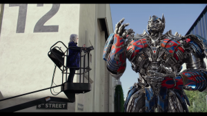 New Promo Clip for Transformers: The Last Knight - Optimus Prime British Dialogue Coaching