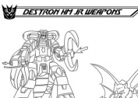 Transformers News: Destron Headmaster Juniors' Weapons: Ark Addendum