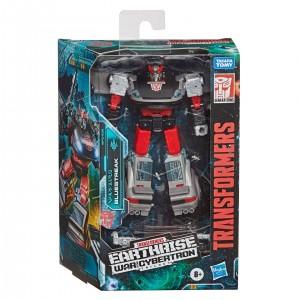 New In Box Image of Transformers Earthrise Bluestreak