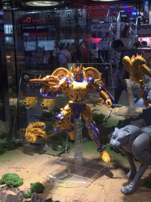 Transformers News: Wonderfest Summer 2016 Color Photos of Transformers Beast Wars Masterpiece Cheetor