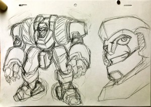Early Transformers: Animated Concept Artwork Shown off by Watanabe Yoshihiro