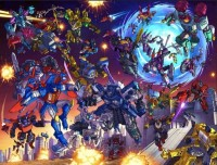 Transformers News: Botcon 2012's Lithograph Available For Preview