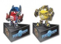 More Transformers ROTF M&M's tie-ins.