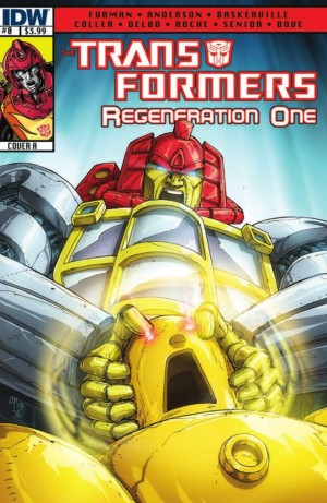 IDW Transformers ReGeneration One #0 Preview