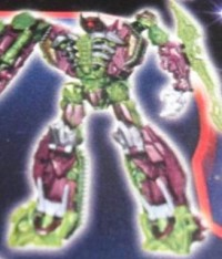 Transformers News: Purple and Green DOTM Voyager Shockwave?