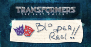Transformers: The Last Knight stop-motion toys Blooper Reel