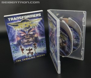 Transformers News: In-Hand Images - Beast Machines the Complete Series DVD Set and Table of Contents