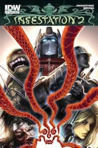 IDW Press Release:The Infestation Spreads Again