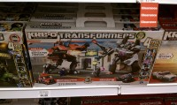Transformers News: Kre-O Transformers Destruction Site Devastator, Battle for Energon, and Street Showdown Sets Sighted at Retail