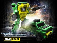 Transformers News: iGear Mini Warrior MW-03 Hench Announced