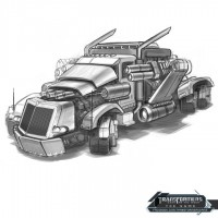 Transformers News: Transformers DOTM Game Vehicle Concept Art