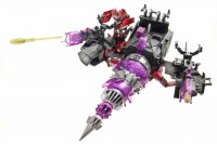Transformers News: Official Image of Transformers Prime Cyberverse Energon Driller with Knockout Playset