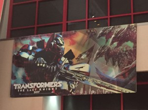 Transformers News: Transformers: The Last Knight Banner Art Appearing in US Cinemas