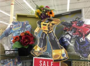 New Hobby Lobby Bumblebee and Soundwave Metal Wall Hangers Found