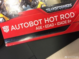 Transformers News: More Proof of a Hot Rod Toy Coming for Transformers: The Last Knight