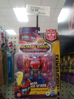 Transformers Cyberverse Cybertronian Optimus Prime has been found at US retail