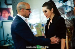Transformers News: Transformers: Age of Extinction Movie Stills Featuring Li Bingbing and Stanley Tucci