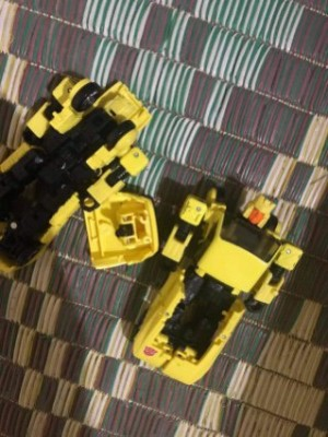First Look at Possible Transformers Generations Selects Hubcap