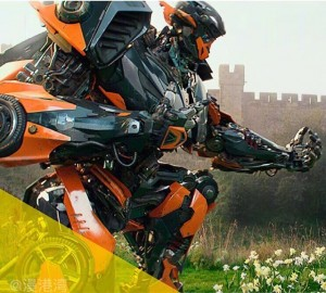 New Image of Hot Rod from Transformers: the Last Knight