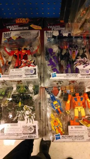 Transformers News: Transformers Generations Deluxe 2014 Wave 2 Sighted at Retail