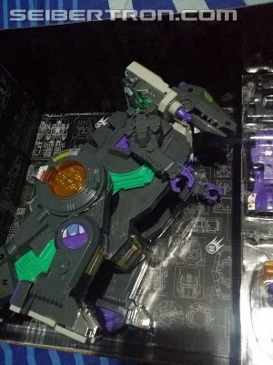 Transformers News: In hand Images of Hasbro Platinum Trypitcon G1 reissue
