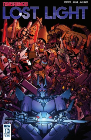 Transformers News: Three Page Preview for IDW Transformers: Lost Light #13