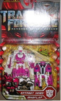 Transformers News: ROTF Skidz And Mudflap Deluxe Two-Pack Variant?