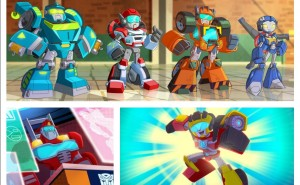 Transformers News: First Look at New Transformers Animated Series Rescue Bots Academy