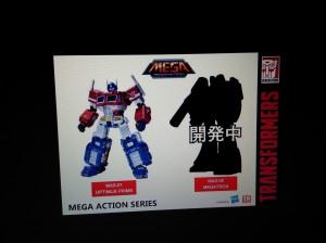 Toys Alliance Transformers Toys Panel at TFNation: MAS-01 Optimus, Teppeki Gokin Optimus Prime, Megatron