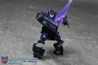 "Transformers News: Transformers ""Robots in Disguise"" Cyberverse Legion Class Series 3 Black Soundwave Images"