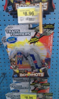 Transformers News: Transformers Bot Shots Series 1 Launchers Released at Retail