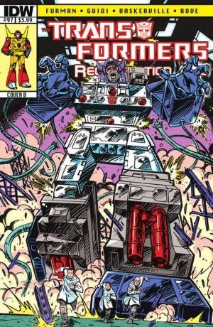 Transformers News: Script (W)Rap - Transformers: ReGeneration One #97