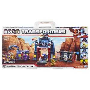 Transformers News: Kre-O Autobot Command Center Official Images
