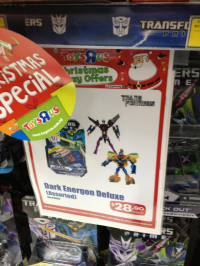 Transformers News: Dark Energon Figures Spotted at Singapore Retail