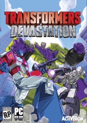 SDCC 2015 - Activision Transformers: Devastation Official Press Release and Packaging Images