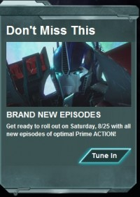 Transformers News: Transformers Prime Returns With New Episodes On August 25th!
