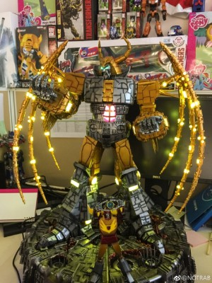 Transformers News: New In-Hand Images of Generation 1 Unicron Lamp