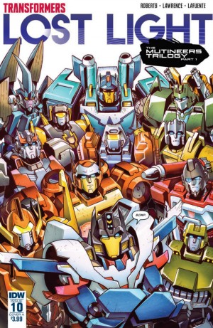 Full Preview for IDW Transformers: Lost Light #10