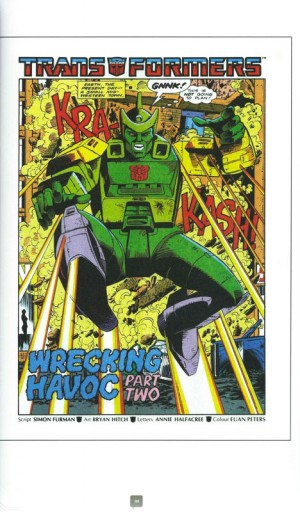 Transformers UK Classics - Interview with James Roberts and Lloyd Young