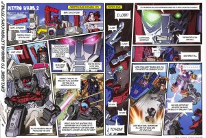 Transformers News: Japanese Generations 2013 Book 'Metro Wars 2' Comic Translated and Extra Commentary by Guido Guidi