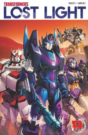 Transformers News: Preview for IDW Transformers: Lost Light Volume 1 TPB