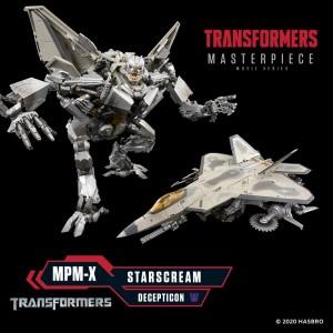Transformers Movie Masterpiece MPM-10 Starscream Revealed