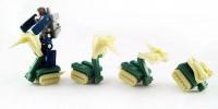 Transformers News: Final Product Images of HeadRobots Cobra